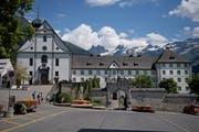 Das Kloster Engelberg. (Bild: Corinne Glanzmann (7. August 2018))
