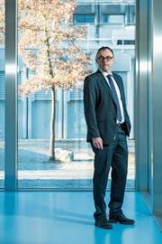 Marc Cadisch leitet das Labor Spiez seit 2003. (Bild: Dominik Wunderli, Spiez, 22. Januar 2019)