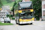 Eine neue Buslinie könnte das Heidler Postauto entlasten. (Bild: Archiv)
