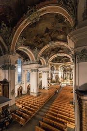 2019 gibt es 26 verschiedene Führungen durch die Kathedrale. (Bild: Hanspeter Schiess (12. Dezember 2016))