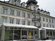 Auch der stolze Palast «Krone» am Kirchplatz ist seit kurzem kein Hotel mehr. (Bild: PD)