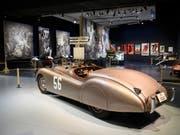 Ein Jaguar aus guten alten Zeiten - als der Begriff «Brexit» noch nicht kreiert wurde. (Bild: KEYSTONE/ANTHONY ANEX)