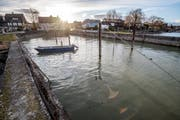 Der bestehende Hafen ist Teil des geschützten Ortsbildes von Kesswil. (Bild: Reto Martin)