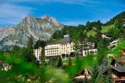 Die Hotels in Engelberg - im Bild das Terrace - verzeichneten vergangenes Jahr mehr Gäste als je zuvor. (Bild: PD)
