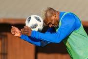 Blessing Eleke macht seine Kopfbälle auch in Zukunft für den FC Luzern. (Bild: Martin Meienberger/Freshfocus (Mijas/Marbella, 16. Januar 2019))