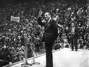 Galt bei seinem Tod 1982 als wichtige Oppositionsfigur gegen Diktator Augusto Pinochet: Chiles Ex-Präsident Eduardo Frei. (Bild: KEYSTONE/AP La Tercera/ANONYMOUS)