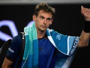 Henri Laaksonen ist die klare Nummer 1 im Schweizer Team (Bild: KEYSTONE/AP/ANDY BROWNBILL)
