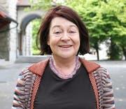 Christine Kamm-Kyburz (†). (Bild: Stefan Kaiser, Mai 2015)