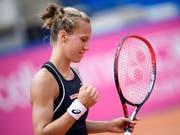 Viktorija Golubic steht in Hua Hin in den Viertelfinals (Bild: KEYSTONE/ANTHONY ANEX)