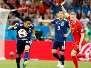 Shinji Kagawa stand an der WM 2018 in Russland für sein Heimatland Japan im Einsatz (Bild: KEYSTONE/EPA/SHAWN THEW)