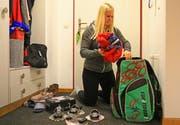 Das Reisen ist des Sportlers Lust: Julie Zogg ist, wie Jonas Lenherr, bereits in den USA. (Bild: Robert Kucera)