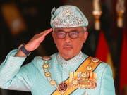 Hat das Amt offiziell übernommen: Malaysias neuer König Tengku Abdullah. (Bild: KEYSTONE/EPA/FAZRY ISMAIL)