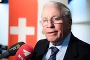 Christoph Blocher zeigt Verständnis für die Reaktion der Schweizerin. (KEYSTONE/Anthony Anex)