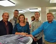 Die Initiativgruppe: Reto Berter, Jack Rietiker, Dagmar Wegmann, Jonas Füllemann und Carsten Niebergall. (Bild: Margrith Pfister-Kübler)