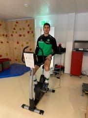 Kontrolle des Fitnessstandes: Milan Vilotic. (Bild: pd)