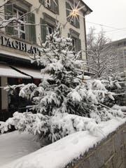 2019 Weiße Weihnachten.Erstmals In Diesem Winter Grössere Schneemengen Auch In St Gallen