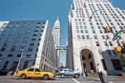 Das Gebäude der Credit Suisse an der Madison Avenue in New York. (Bild: Martin Ruetschi/Keystone (7. August 2009))
