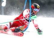 Marcel Hirscher macht im zweiten Lauf von Zagreb seinen 30. Slalomsieg perfekt (Bild: KEYSTONE/EPA/ANTONIO BAT)