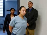 Die zu lebenslanger Haft verurteilte Cyntoia Brown will nach ihrer Begnadigung versuchen, wieder in der Gesellschaft Fuss zu fassen. (Bild: KEYSTONE/AP The Tennessean POOL/LACY ATKINS)