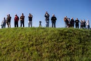 In Wikon richten sich die Blicke zunehmend auf den Gemeindepräsidenten.(Symbolbild: Alexandra Wey/Keystone)