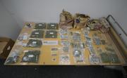 Das von der Polizei sichergestellte Marihuana und Haschisch. (Bild: PD)