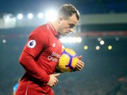 Xherdan Shaqiri zeigte eine starke Leistung - dennoch scheiterte Liverpool im Cup bei den Wolverhampton Wanderers (Bild: KEYSTONE/AP/JON SUPER)