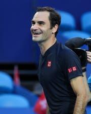 Ohne Probleme in der Vorbereitung: Roger Federer. (Bild: Jürgen Hasenkopf/Freshfocus (Perth, 5. Januar 2019))