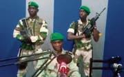 Die Putschisten riefen über den staatlichen Rundfunk zu einem Aufstand auf. Die Machtübernahme misslang. (Bild: AP (Libreville, 7. Januar 2019))