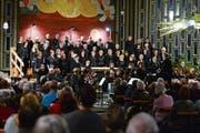 Der Kirchenchor Bruder Klaus lud zum Kirchenkonzert. (Bild: Maria Schmid (Oberwil, 6. Januar 2019))