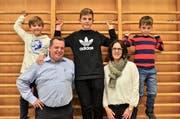 Die Roggwiler haben die Familie Mader eingebürgert. (Bild: Max Eichenberger)