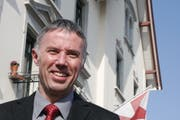 Gemeindepräsident Gallus Hasler. (Bild: Max Eichenberger)