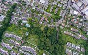 Prämienrabatt für die über 122'000 Gebäude im Kanton Luzern. Im Bild: Kriens aus der Luft. (Bild: Christoph Arnet/arnetfotografik)