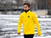 Gianluca Gaudino: erstes Training mit YB im winterlichen Bern (Bild: KEYSTONE/ANTHONY ANEX)
