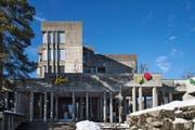 Läuft alles nach Plan, hat das bisherige Gebäude der Kantonsschule bald ausgedient. (Bild: Michel Canonica)