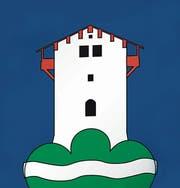 Heutiges Wappen des Bezirks Schwende