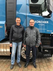 Andi Zürcher (links) und Stefan Eberhard. Bild: PD