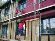 Für energetische Verbesserungen der Gebäudehülle können auch 2019 Fördergelder beantragt werden. (Bild: PD)
