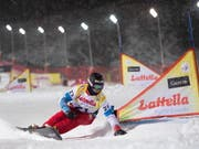 Dario Caviezel weiss in Bad Gastein zu überzeugen (Bild: KEYSTONE/EPA/ANDREAS SCHAAD)