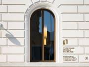 Das Bundesstrafgericht in Bellinzona beurteilt den Fall des mutmasslichen Datendiebstahls in Abwesenheit des Angeklagten. (Archivfoto) (Bild: KEYSTONE/TI-PRESS/ALESSANDRO CRINARI)