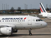 Im vergangenen Jahr flogen mehr Passagiere mit Air France und KLM (Archivbild). (Bild: KEYSTONE/AP/CHRISTOPHE ENA)