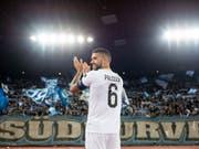 Victor Palsson verabschiedet sich aus Zürich und wechselt zu Darmstadt in die 2. Bundesliga (Bild: KEYSTONE/ENNIO LEANZA)