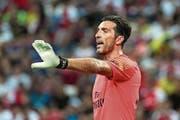 Legende und Lebemann: Gianluigi Buffon. (Bild: Wallace Woon/EPA)