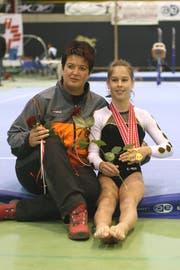 Marianne Steinemann und Giulia Steingruber im Jahr 2007. (Bild: TZFF)