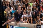Starke Rückkehr nach 14-monatiger Verletzungspause: Giulia Steingruber gewann an den Schweizer Meisterschaften ihren achten Titel im Mehrkampf. (Bilder: Freshfocus)