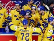 Die schwedischen Spieler können in sechs Jahren vor heimischer Kulisse um den Titel spielen (Bild: KEYSTONE/EPA/MARTIN DIVISEK)