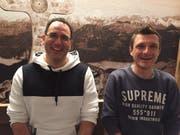 Vertreten an der Euroapmeisterschaft Nidwalden und Obwalden: Marco Wanner (links) und Martin Slanzi. (Bild: PD)
