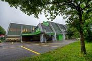 Das Sportcenter Würzenbach. (Bild: Eveline Beerkircher, Luzern, 21. Juni 2016)