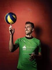 Elias Wetzel hat für die Schweiz 34 Länderspiele bestritten. (Bild: Michel Canonica)