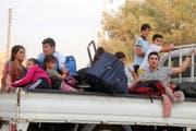 Erdogan droht mit Flüchtlingen. (Bild: Keystone)