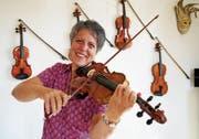 Geigerin Marie-Theres Ledergerber war bereits als Orchester- und Kammermusikerin sowie als Solistin tätig. (Bild: Maya Heizmann)